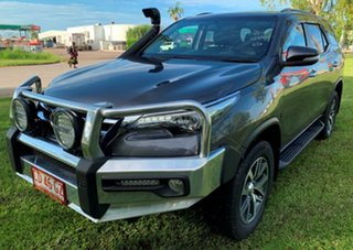 2015 Toyota Fortuner GUN156R Crusade Grey 6 Speed Automatic Wagon