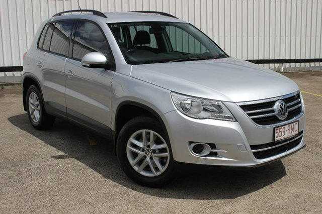 Used Volkswagen Tiguan 5N MY11 125TSI DSG 4MOTION, 2010 Volkswagen Tiguan 5N MY11 125TSI DSG 4MOTION Reflex Silver 7 Speed Sports Automatic Dual Clutch