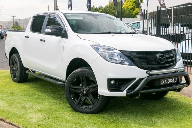 Demo Mazda BT-50 UR0YG1 GT, 2018 Mazda BT-50 UR0YG1 GT Cool White 6 Speed Sports Automatic Utility