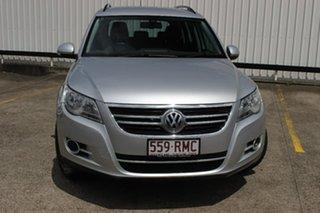2010 Volkswagen Tiguan 5N MY11 125TSI DSG 4MOTION Reflex Silver 7 Speed Sports Automatic Dual Clutch.