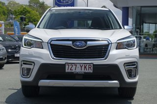 2018 Subaru Forester S5 MY19 2.5i-S CVT AWD White Crystal 7 Speed Constant Variable Wagon.