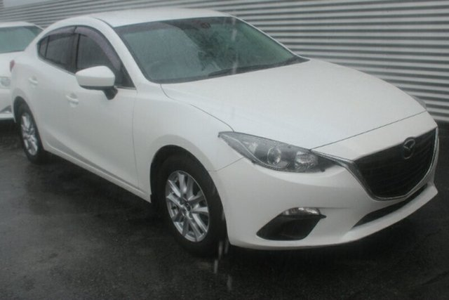 Used Mazda 3 BM5278 Maxx SKYACTIV-Drive, 2014 Mazda 3 BM5278 Maxx SKYACTIV-Drive White 6 Speed Sports Automatic Sedan