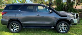 2015 Toyota Fortuner GUN156R Crusade Grey 6 Speed Automatic Wagon.