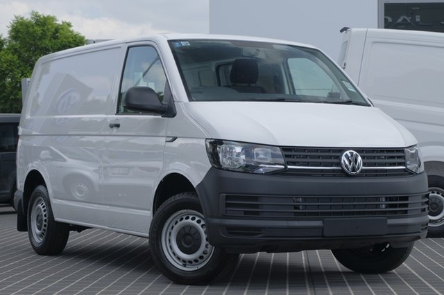 Demo Volkswagen Transporter T6 MY18 TDI340 SWB DSG, 2017 Volkswagen Transporter T6 MY18 TDI340 SWB DSG Candy White 7 Speed Sports Automatic Dual Clutch