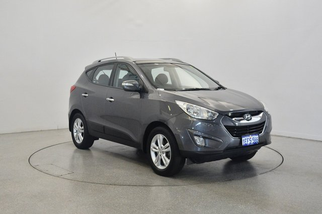 Used Hyundai ix35 LM2 Elite, 2013 Hyundai ix35 LM2 Elite Grey Titanium 6 Speed Sports Automatic Wagon