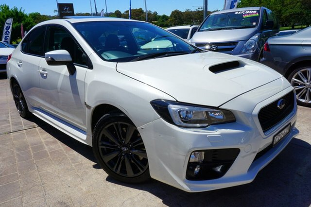 Used Subaru WRX V1 MY15 AWD, 2015 Subaru WRX V1 MY15 AWD White 6 Speed Manual Sedan