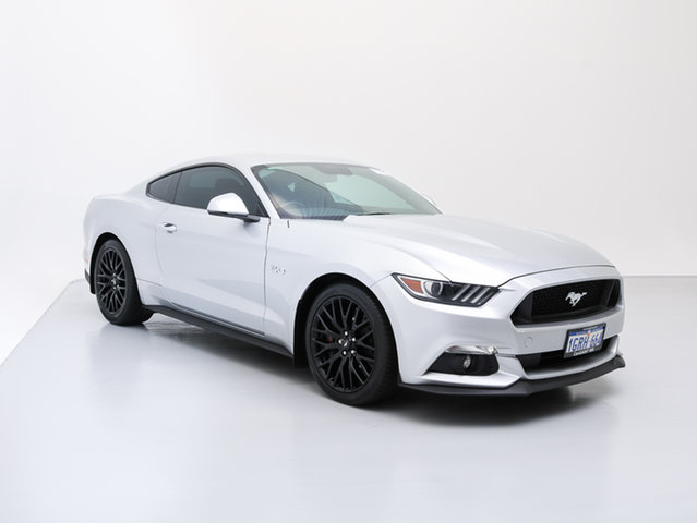 Used Ford Mustang FM MY17 Fastback GT 5.0 V8, 2016 Ford Mustang FM MY17 Fastback GT 5.0 V8 Silver 6 Speed Automatic Coupe