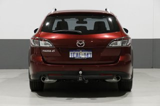 2012 Mazda 6 GH MY11 Touring Burgundy 5 Speed Auto Activematic Wagon