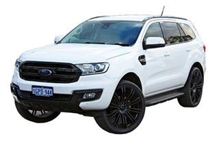 2017 Ford Everest UA Trend RWD White 6 Speed Sports Automatic Wagon.