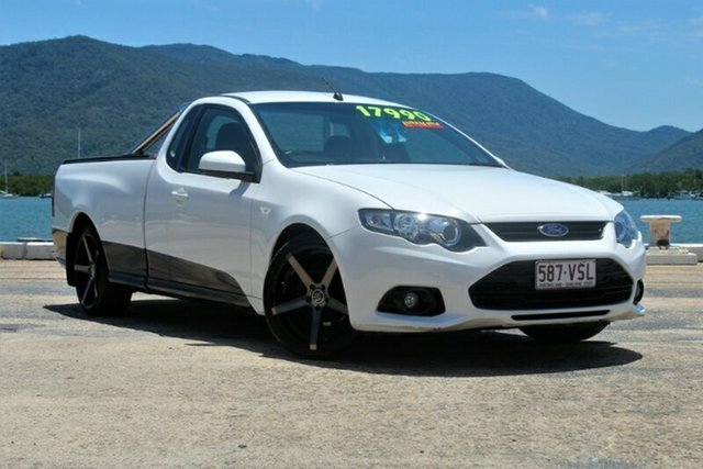 Used Ford Falcon FG MkII XR6 Ute Super Cab, 2013 Ford Falcon FG MkII XR6 Ute Super Cab White 6 Speed Semi Auto Utility