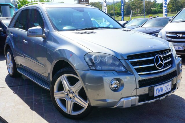 Used Mercedes-Benz ML350 W164 MY10 AMG Sports, 2011 Mercedes-Benz ML350 W164 MY10 AMG Sports Silver 7 Speed Sports Automatic Wagon