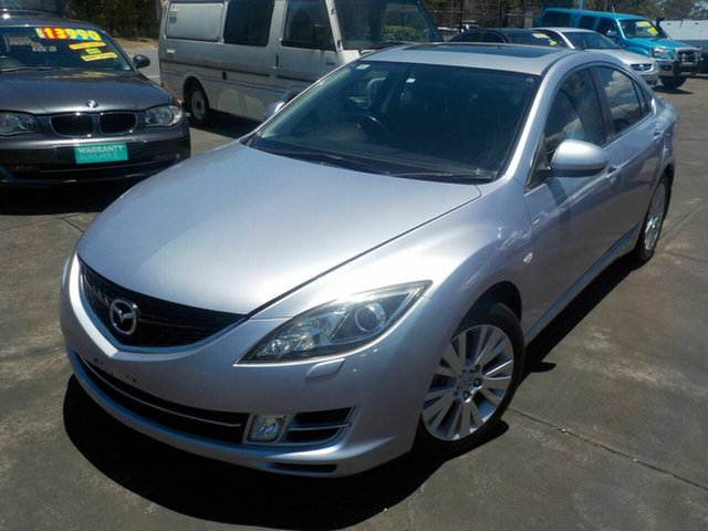 Used Mazda 6 GH Luxury, 2008 Mazda 6 GH Luxury Silver 5 Speed Auto Activematic Sedan