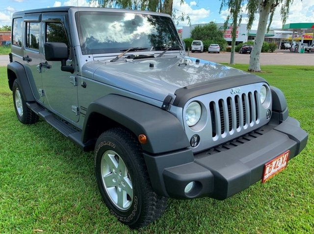 Used Jeep Wrangler JK MY2015 Unlimited Sport, 2014 Jeep Wrangler JK MY2015 Unlimited Sport Grey 5 Speed Automatic Softtop