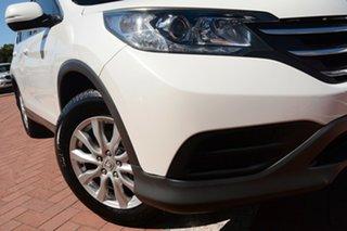2012 Honda CR-V RM VTi Navi White 5 Speed Automatic Wagon.