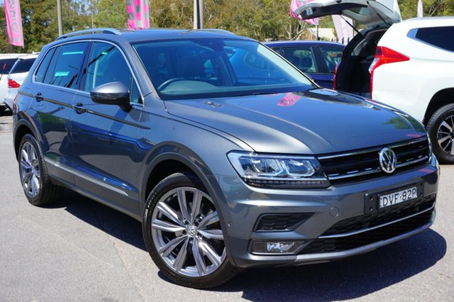Used Volkswagen Tiguan 5N MY18 162TSI DSG 4MOTION Sportline, 2018 Volkswagen Tiguan 5N MY18 162TSI DSG 4MOTION Sportline Grey 7 Speed