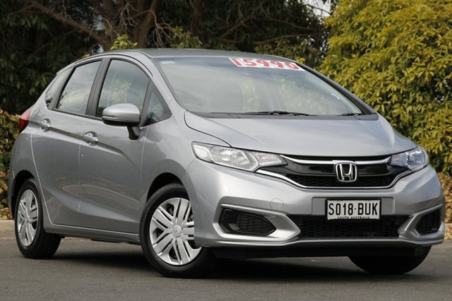Used Honda Jazz GF MY18 VTi, 2018 Honda Jazz GF MY18 VTi Lunar Silver 1 Speed Constant Variable Hatchback