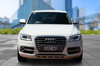 2014 Audi SQ5 8R MY14 TDI Tiptronic Quattro White 8 Speed Sports Automatic Wagon