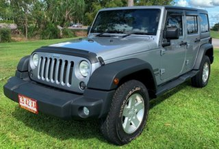 2014 Jeep Wrangler JK MY2015 Unlimited Sport Grey 5 Speed Automatic Softtop