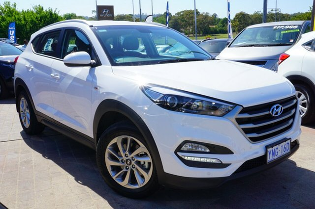 Used Hyundai Tucson TLe MY17 Active AWD, 2017 Hyundai Tucson TLe MY17 Active AWD Pure White 6 Speed Sports Automatic Wagon
