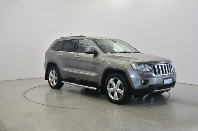 Used Jeep Grand Cherokee WK MY2012 Limited, 2012 Jeep Grand Cherokee WK MY2012 Limited Mineral Grey 5 Speed Sports Automatic Wagon