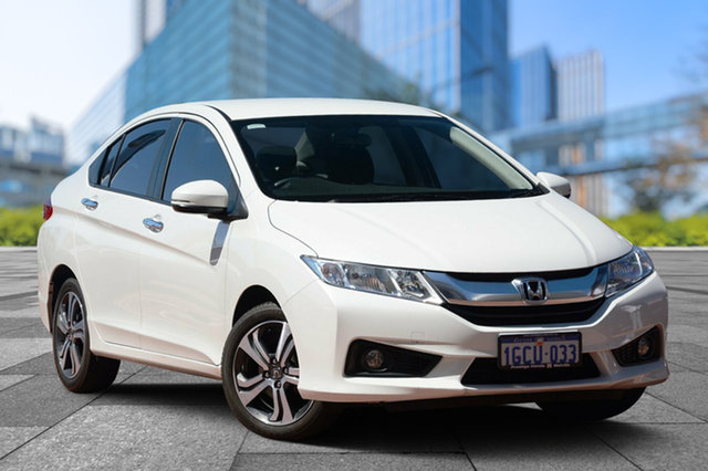 Used Honda City GM MY16 VTi-L, 2016 Honda City GM MY16 VTi-L White 7 Speed Constant Variable Sedan