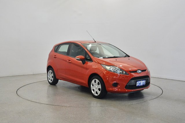 Used Ford Fiesta WT CL, 2012 Ford Fiesta WT CL Burnt Orange 5 Speed Manual Hatchback