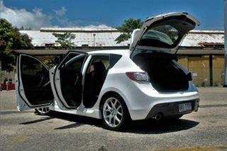 2012 Mazda 3 BK1032 MPS Sports Crystal White Pearl Manual Hatchback.
