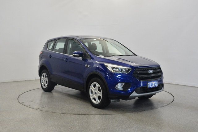 Used Ford Escape ZG 2018.00MY Ambiente 2WD, 2018 Ford Escape ZG 2018.00MY Ambiente 2WD Blue 6 Speed Sports Automatic Wagon