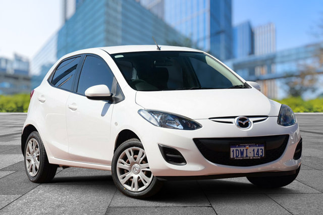 Used Mazda 2 DE10Y2 MY12 Neo, 2011 Mazda 2 DE10Y2 MY12 Neo White 4 Speed Automatic Hatchback