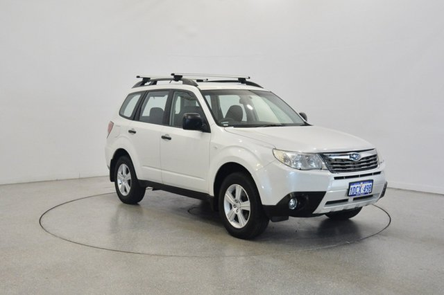 Used Subaru Forester S3 MY10 X AWD, 2009 Subaru Forester S3 MY10 X AWD White 4 Speed Sports Automatic Wagon