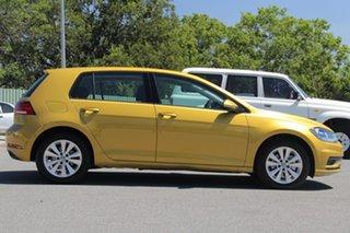 2018 Volkswagen Golf 7.5 MY19 110TSI DSG Trendline Tumeric Yellow 7 Speed.