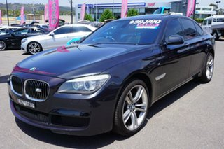 2012 BMW 730d F01 MY0911 Steptronic Black 6 Speed Sports Automatic Sedan.