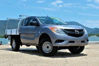 2013 Mazda BT-50 UP0YF1 XT Freestyle 4x2 Hi-Rider Titanium Grey 6 Speed Manual Cab Chassis.