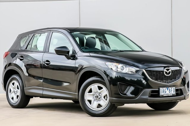 Used Mazda CX-5 KE1071 MY13 Maxx SKYACTIV-Drive, 2013 Mazda CX-5 KE1071 MY13 Maxx SKYACTIV-Drive Black 6 Speed Sports Automatic Wagon
