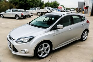 2012 Ford Focus LW MkII Titanium PwrShift Ingot Silver 6 Speed Sports Automatic Dual Clutch.