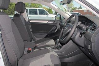2018 Volkswagen Tiguan 5N MY18 110TDI Comfortline DSG 4MOTION Allspace White Silver 7 Speed