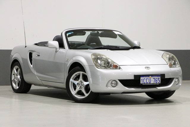 Used Toyota Mr2 ZZW30R Spyder, 2004 Toyota Mr2 ZZW30R Spyder Silver 6 Speed Sequential Manual Convertible