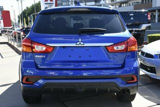 2018 Mitsubishi ASX XC MY19 LS (2WD) Lightning Blue Continuous Variable Wagon