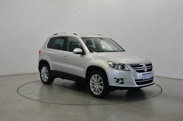Used Volkswagen Tiguan 5N MY10 147TSI 4MOTION, 2010 Volkswagen Tiguan 5N MY10 147TSI 4MOTION Silver 6 Speed Sports Automatic Wagon