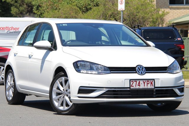 Demo Volkswagen Golf 7.5 MY18 110TSI DSG Comfortline, 2018 Volkswagen Golf 7.5 MY18 110TSI DSG Comfortline Pure White 7 Speed Sports Automatic Dual Clutch