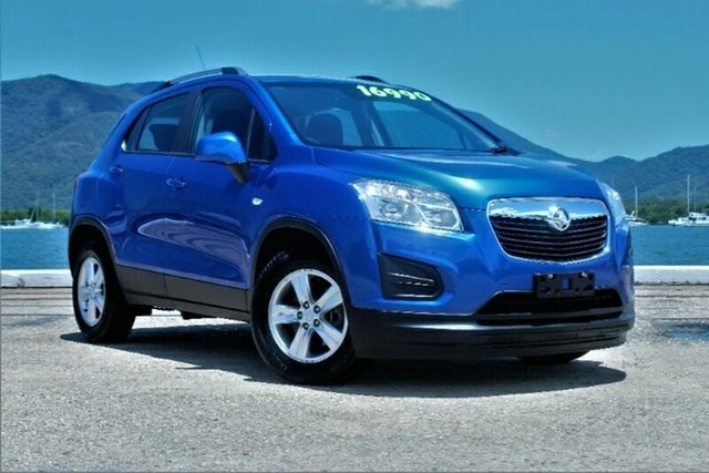 Used Holden Trax TJ MY16 LS, 2016 Holden Trax TJ MY16 LS Boracay Blue 6 Speed Automatic Wagon