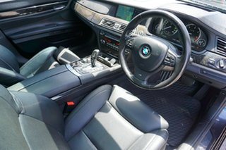 2012 BMW 730d F01 MY0911 Steptronic Black 6 Speed Sports Automatic Sedan