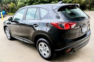 2013 Mazda CX-5 KE1071 MY13 Maxx SKYACTIV-Drive Black 6 Speed Sports Automatic Wagon.