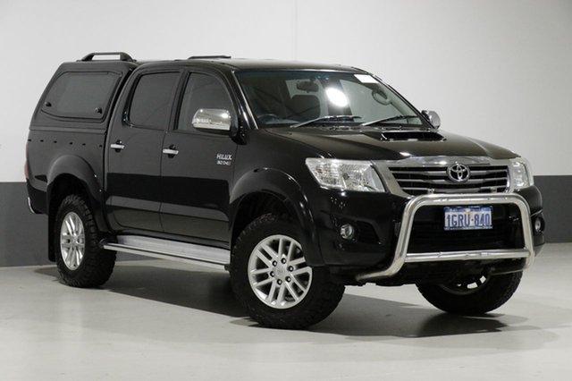 Used Toyota Hilux KUN26R MY14 SR5 (4x4), 2014 Toyota Hilux KUN26R MY14 SR5 (4x4) Black 5 Speed Automatic Dual Cab Pick-up