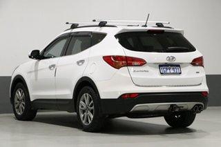 2014 Hyundai Santa Fe DM Elite CRDi (4x4) White 6 Speed Automatic Wagon