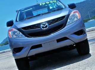 2013 Mazda BT-50 UP0YF1 XT Freestyle 4x2 Hi-Rider Titanium Grey 6 Speed Manual Cab Chassis