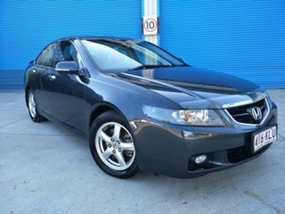 2003 Honda Accord Euro CL Luxury Metallic Grey 6 Speed Manual Sedan.