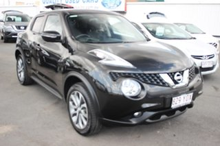2016 Nissan Juke F15 Series 2 ST X-tronic 2WD Black 1 Speed Constant Variable Hatchback.