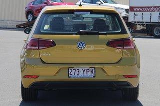 2018 Volkswagen Golf 7.5 MY19 110TSI DSG Trendline Tumeric Yellow 7 Speed