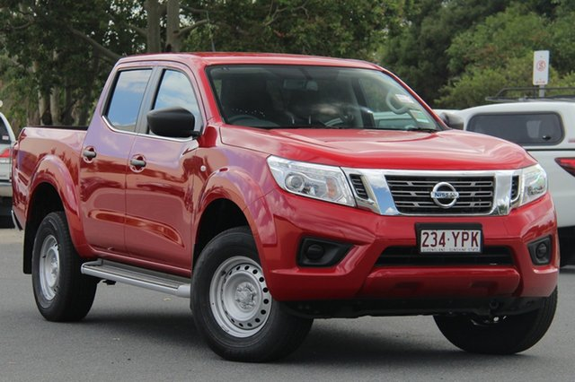 Demo Nissan Navara D23 S3 SL, 2018 Nissan Navara D23 S3 SL Burning Red 6 Speed Manual Utility